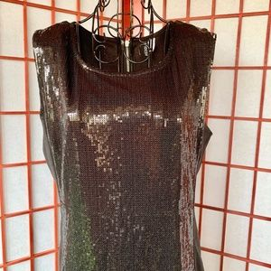 Divided Sequin Panel Midi NWOT